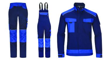 Pracovné oblečenie pre priemysel